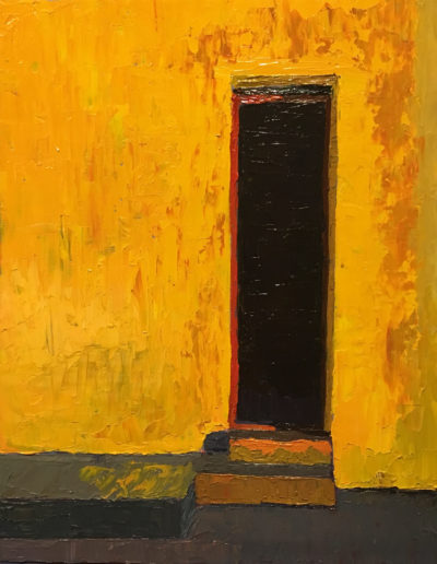 abstract painting, modern art, architectual art, oil on canvas, oil painting, home decor, abstract painting, modern art, architectual art, mustard, red